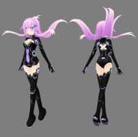 HDNmk2 - Purple Heart Suit - HDNV Ver. by Ke--Y