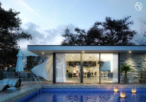 Pool House by vudumotion