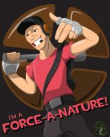 TF2 Scout Tee-Graphic by Primogenitor34