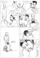 Cap and IronMan : Never by LadyNorthstar