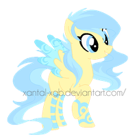:|Custom|: Female Pegasi - bieIIe by XantaL-XGB