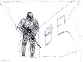 FoT Environmental Armour with Sniper Rifle by daStig177