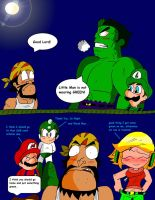 St. Patrick Day! (with Hulk and Luigi) by Rokku-D