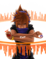Neku- The World Ends With You by 00-empty-00