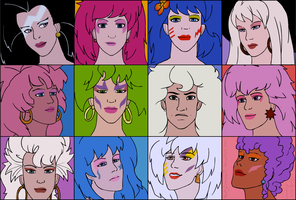 Jem Squares by MintyDreams7