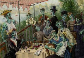 Zombie Luncheon by Quest007