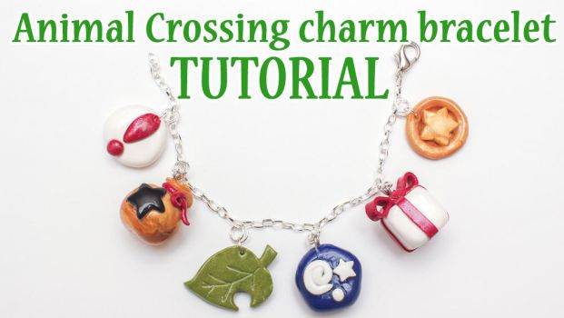 Animal Crossing polymer clay bracelet tutorial by FrozenNote