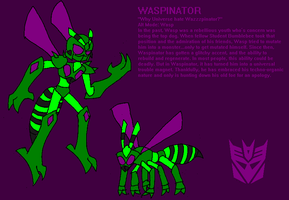 Nexus REVISED Waspinator Profile by InvaderToum