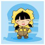Little Girl Eskimo by SquidPig