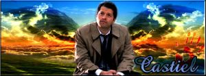Castiel by Into-Dark