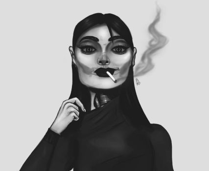 Lovely Smoke by World-of-Artcraft