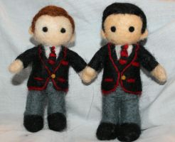 Kurt Hummel and Blaine Anderson by hiltti