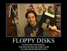 Motivation - Floppy Disks by Songue