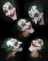 The Joker bust different angles by PatMichael