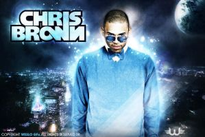 Chris Brown by Weslo11