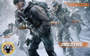 The Division Delta Banshee Squad by blackbeast