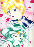 The Death of Sailor Neptune by miserable-dreamer