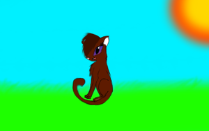 my fail attempt at a anime cat by Foxstar92