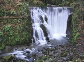 Alva Glen Waterfall by BusterBrownBB