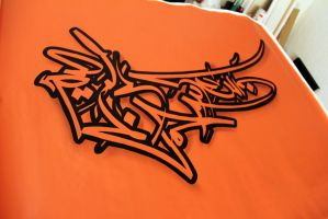 Arabic Graffiti by Kolahstudio