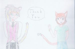 For 10,000 Views, Thank You by GalaxianDragon