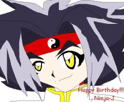 happy late bday to ninjaj also by Ozuma-Sister
