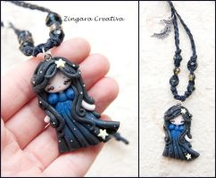 Night Necklace by zingaracreativa