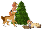 Contest Entry: Christmas Decorations by KatScrapMew