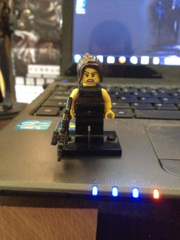 LEGO Sarah Connor by Wesker86