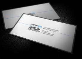 Simple Professional Business Card V2 by glenngoh