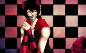 Kuro of cheshire ( CONSTEST  ENTRY) by MisakiboysloveS7