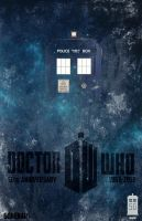 doctor who 50th anniversary by gorenarr