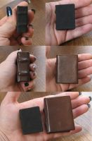 2 Mini handmade Books by NoraDevius