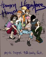 Hungry Hungry Hipsters by rori