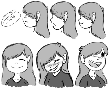 Faith Concept Sketches by The-Twitching-Doll