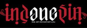 indonesia ambigram by dhe-art