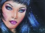 ACEO Like a star by WitchiArt