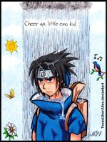 Cheer Up, Sasuke by TexasUberAlles
