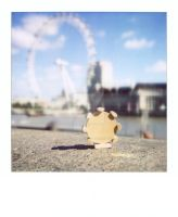 london in a bag: london eye by peasandcarrots