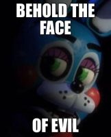 The face of evil by MoonShineTheShinyumb