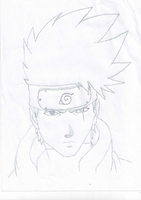 Kakashi wit no mask by Flynneybob