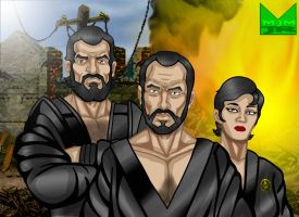 The Zod Squad by wondermanrules