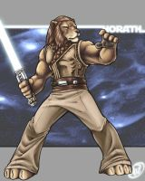 Horath, Jedi Master by AdamWithers