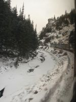 Train Trip through the Mountains by Mistgod