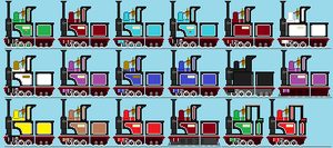 And now have a sheet of NG 0-6-0 Tender tanks! by GWRbrony13