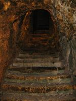 The Dungeon Stairs by Elorine