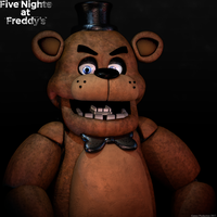 Angry Freddy - Render Test by GamesProduction