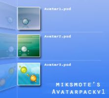AvatarPack_v1 by miksmote