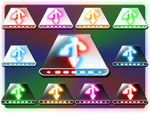 'Glowyface' flash drive icons by romadragon