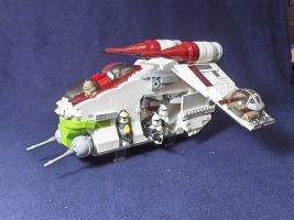 My lego Gunship by Tekka-Croe